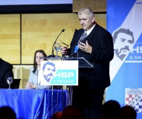 Marko Prpic/PIXSELL: Anto Đapić na Saboru HSP AS