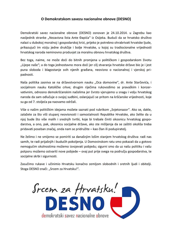 DESNO_o_nama