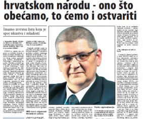 Glas Slavonije - Anto Đapić