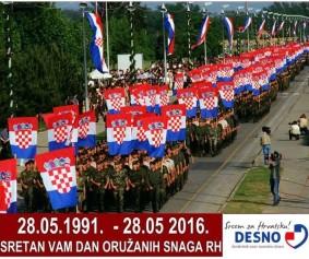 Dan oružanih snaga